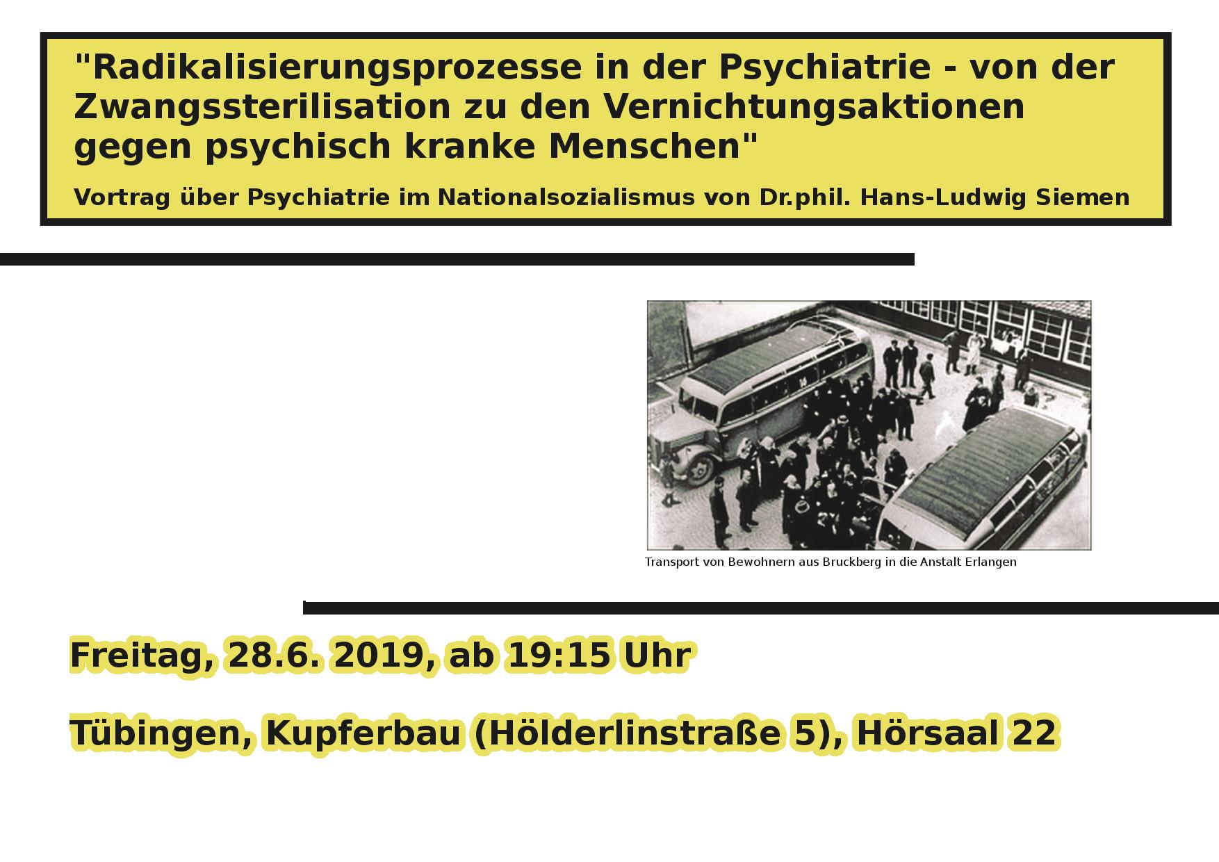 Vortrag Psychiatrie im NS